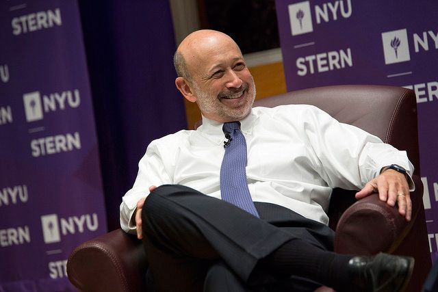 "February 2015: Lloyd C. Blankfein, chairman and CEO of Goldman Sachs, and John Sexton, president of New York University, sat down to discuss ""Global #Leadership in the 21st Century."""