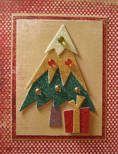 Scrap Time - Ep. 429 - American Crafts Glitter Paper by Shopping Diva, via Flickr