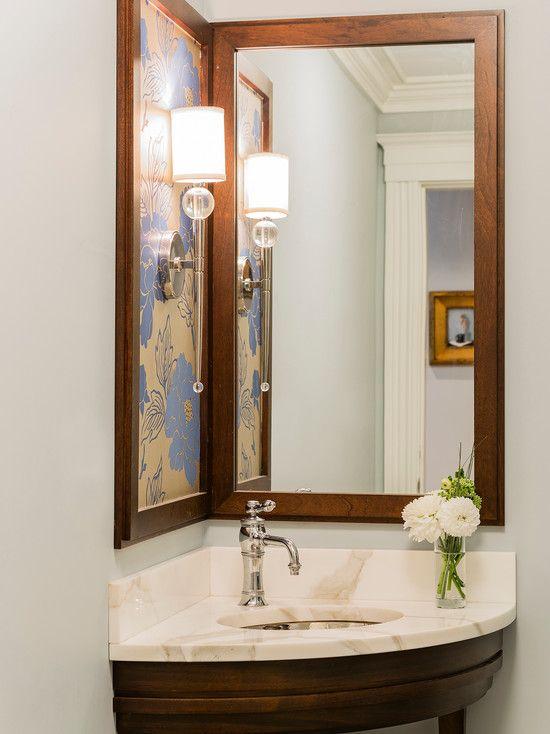 25+ melhores ideias sobre Pia de canto para banheiro no ...