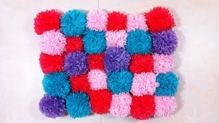 how to make a locker rug - YouTube