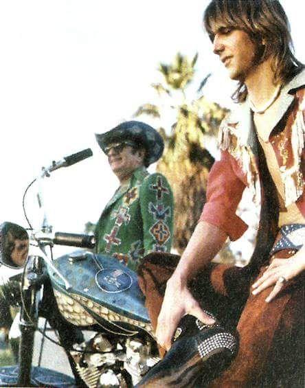 Gram Parsons and Nudie Cohn