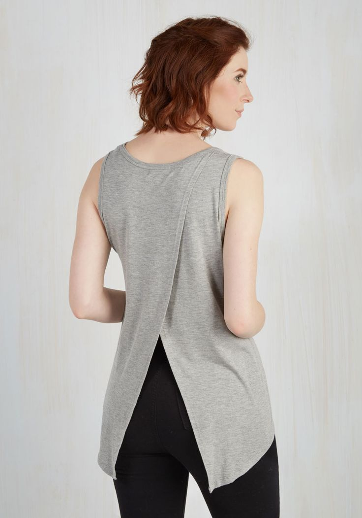 Boost the Basics Top in Ash, #ModCloth