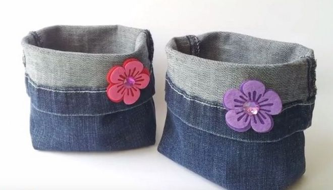 Jeans get a lot of hard wear. When pants become too worn for wear, there are still a lot of great uses for the denim.