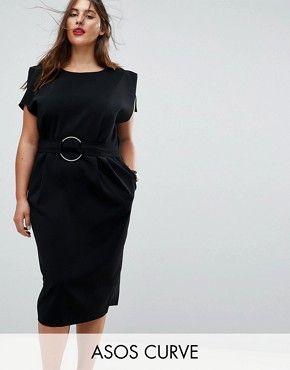 Us Asos Com Women Curve Plus Size Dresses Cat Cid 9579 Refine Attribute 1012 4459 Currentpricerange Midi Dress With Sleeves Plus Size Dresses Maxi Dress Prom