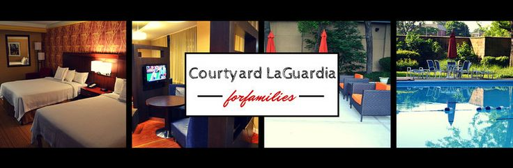 A review of Courtyard Marriott LaGuardia Airport Hotel for families | TipsforFamilyTrips.com