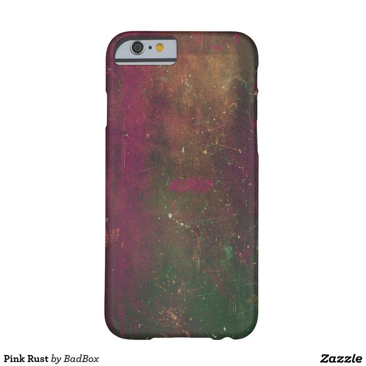 Pink Rust Barely There iPhone 6 Case