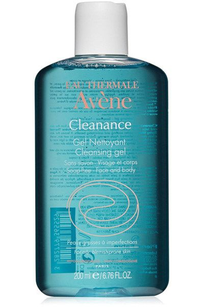Eau Thermale Avène Cleanance Cleansing Gel, to get your face and body clean without using soap. | 22 French Pharmacy Products That People Actually Swear By