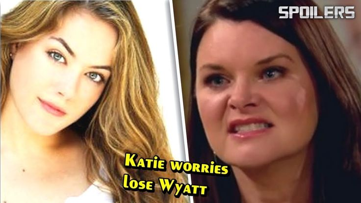 The Bold and the Beautiful Spoilers Katie worries to lose Wyatt after Hope Logan returns - YouTube
