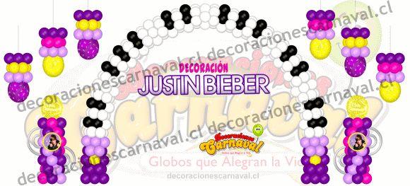 Foyer Colors Justin Bieber : Best celebraciones globos images on pinterest