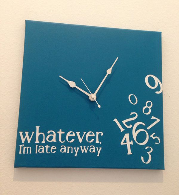 Anyone who knows me would agree this should be my clock :) - 20 Truly Unique Clocks You Want On Your Wall