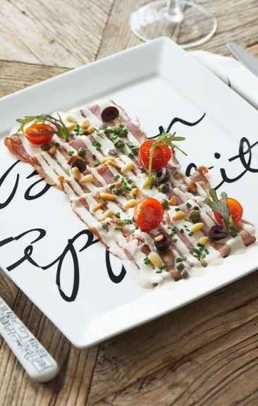 #recipe Vitello Tonato Rivièra Maison East Coast Café The Hague