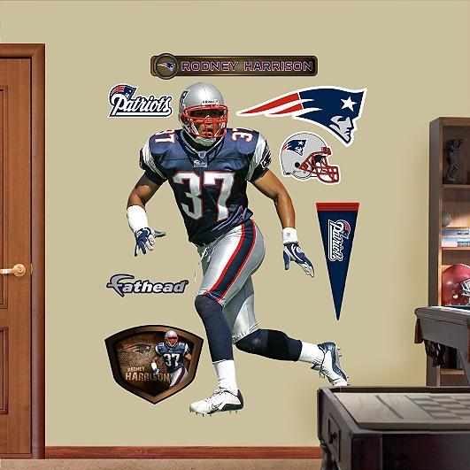 Rodney Harrison, New England Patriots