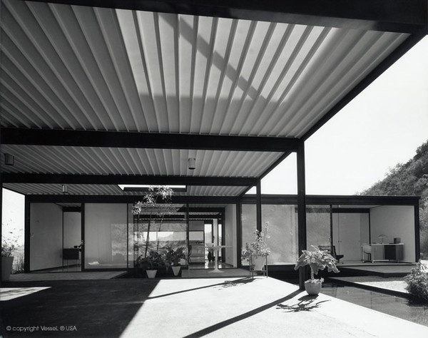 3558 best mid century exteriors images on pinterest for Mid century modern residential architecture
