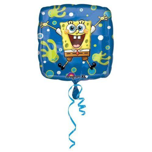 Anagram 18 in. Foil Balloon - Spongebob Squarepants Joy - Case of 100 @ niftywarehouse.com #NiftyWarehouse #Spongebob #SpongebobSquarepants #Cartoon #TV #Show