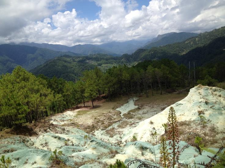Blue Soil Sagada Mountain Province Philippines Places