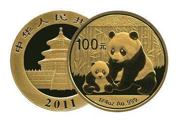 Gold Panda Anlagemünzen
