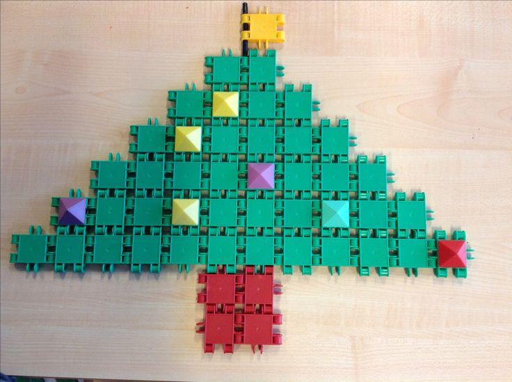 Kerstboom van clicks