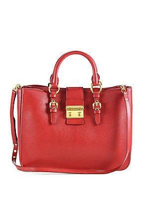 VIDA Leather Statement Clutch - Renegade Red-2 by VIDA UKsPyZt