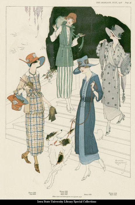Day dresses, 1918, The Designer