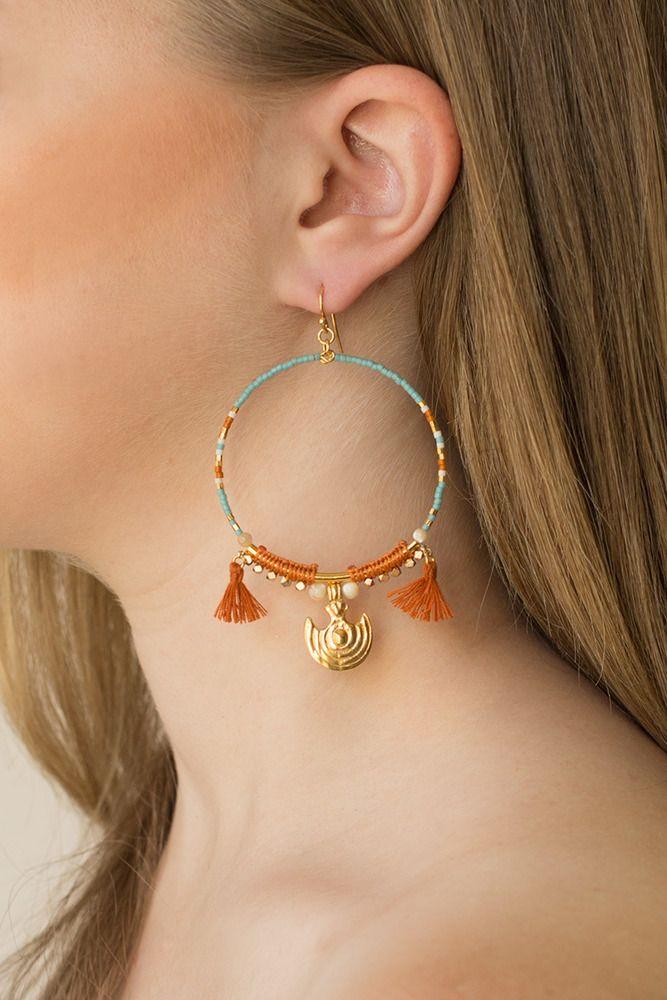 Women S Earrings Studs Thread Thru Chan Luu