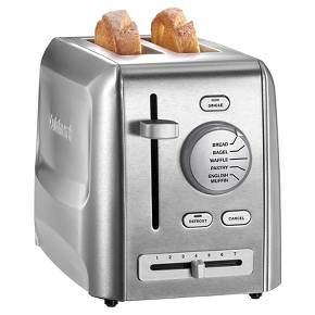 Cuisinart Two Slice Stainless Steel Toaster CPT620 : Target