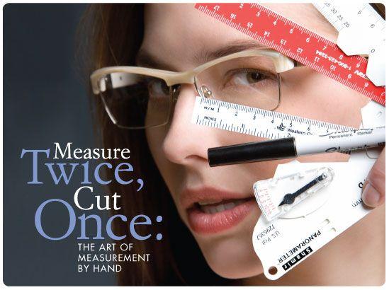 Measure twice cut once essay