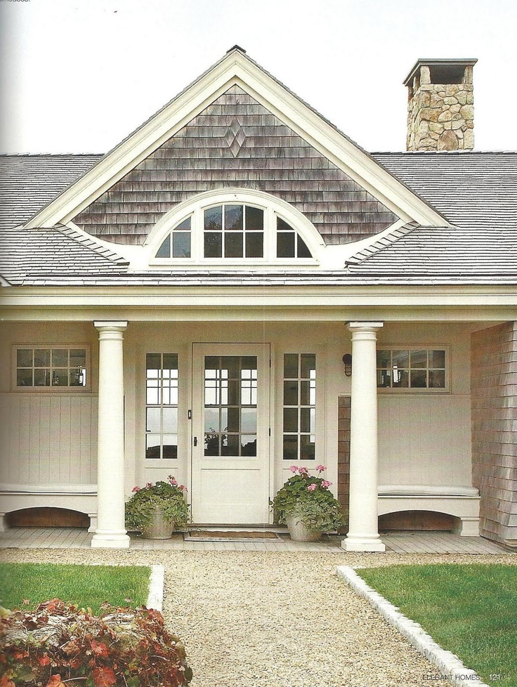1000 images about house exteriors on pinterest beach for Cape cod front door styles
