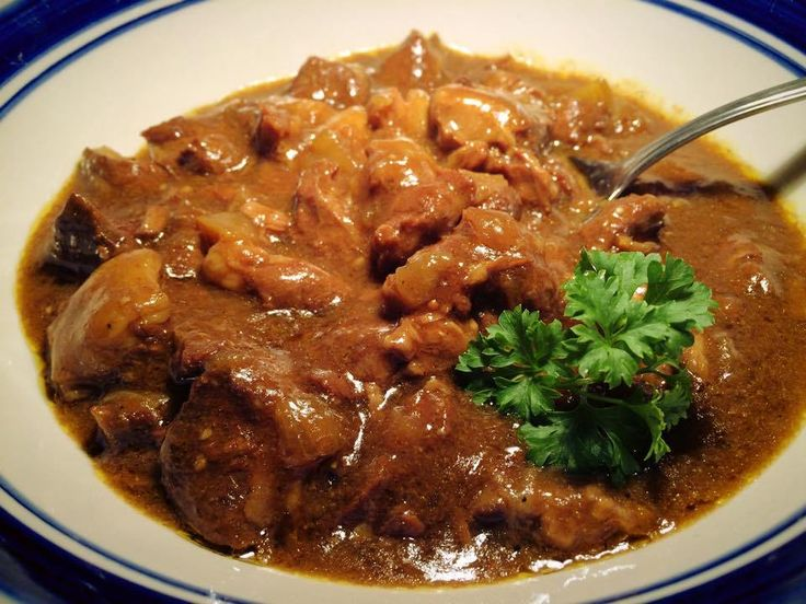 Sweet Lamb Curry |