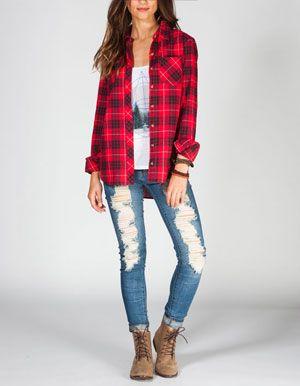 25 Best Ideas About Women 39 S Flannel Shirts On Pinterest
