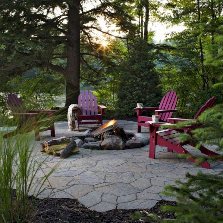 Backyard Fire Pit Landscaping Ideas: Best 25+ Cheap Fire Pit Ideas On Pinterest