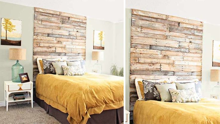 20 tutos pour fabriquer une t te de lit avec des palettes t tes de lit palettes lit palette. Black Bedroom Furniture Sets. Home Design Ideas