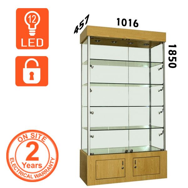 Retail Wooden Display Cabinet