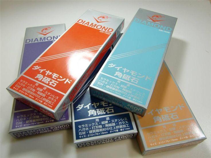 """Japanese Whetstone """"Naniwa Diamond Stone Series"""" Water Stone,Sharpening Stone"""