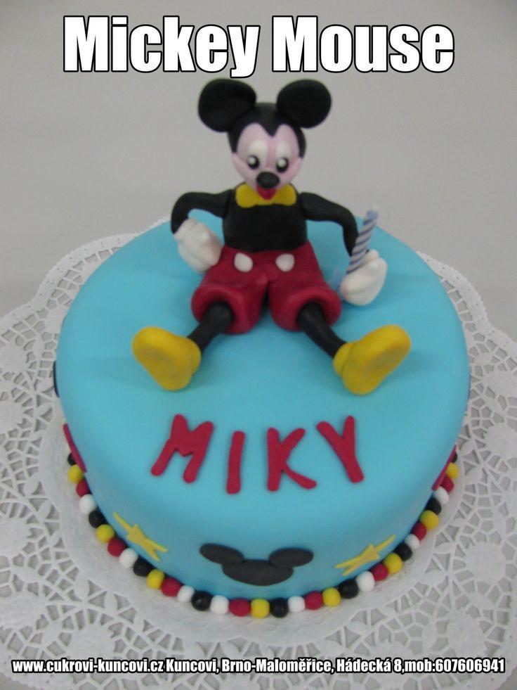 Mickey Mouse  www.cukrovi-kuncovi.cz