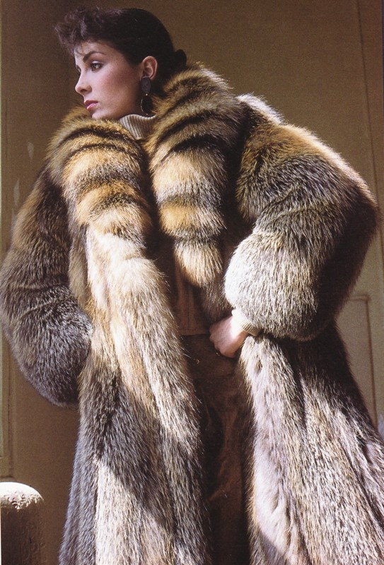 Fox Fur Coat...why do they have to be so darn expensive? | Me LIke