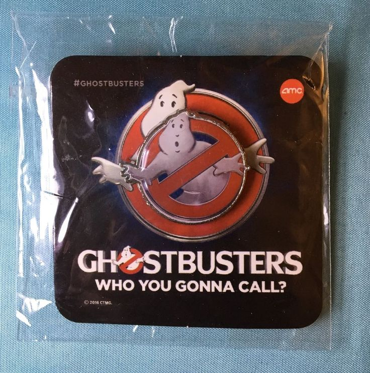 Collectible Ghostbusters AMC Movie Theater Promotional Pin FREE SHIPPING! New  | eBay