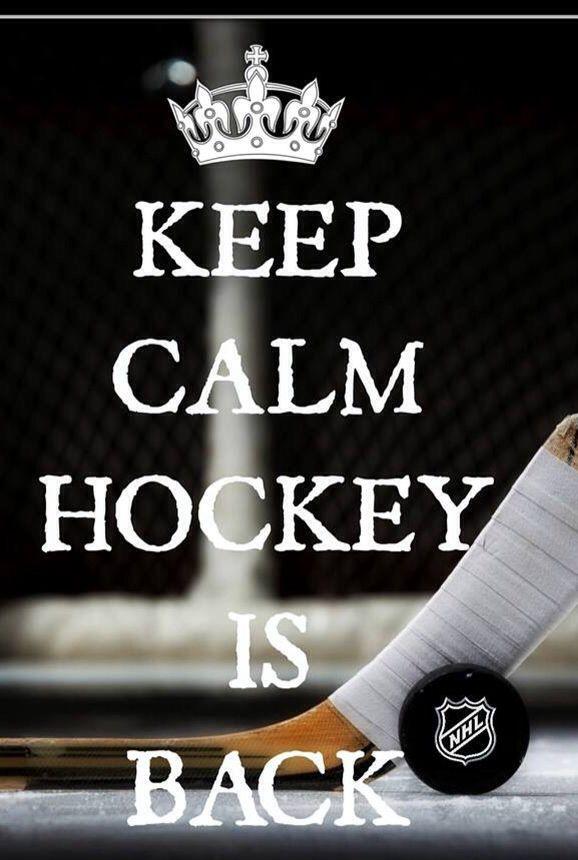 Keep Calm Hockey is back