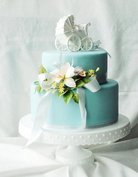 Cake    for boy baby shower