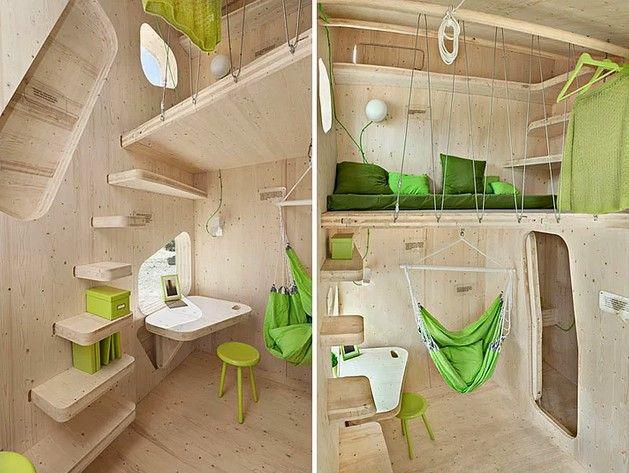 """İsveç'te bir mimarlık firması tarafından geliştirilen """"mikro smart evler"""" projesinde sona gelindi."""