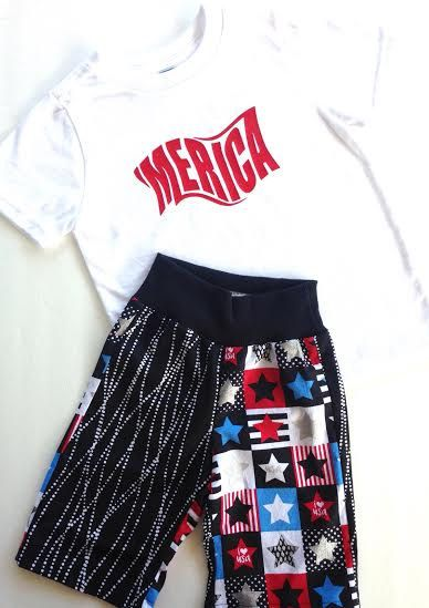 4th of July Set | 4th of July Baby Boy| Tom Boy Girl Outfit |Shorts with Stars | Baby Boy First 4th of July| Trendy Boy Outfit | Trendy Baby by TheLittleHam on Etsy