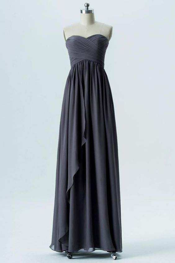 Best 10+ Charcoal grey bridesmaid dresses ideas on