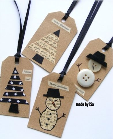 After seeing these cute gift name tags in madebyisa blog  http://madebyisa.canalblog.com/archives/2014/10/28/30744561.html I desided to make...