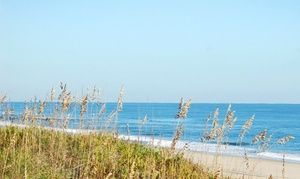 Groupon - Stay with Suite Shop Gift Basket at Hampton Inn & Suites Atlantic Beach in North Carolina. Dates into April. in Pine Knoll Shores, NC. Groupon deal price: $53.72