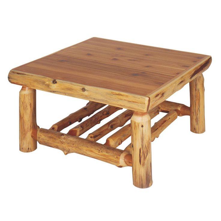 Fireside Lodge Traditional Cedar Log Coffee Table & Reviews | Wayfair - 25+ Best Ideas About Log Coffee Table On Pinterest Log Table