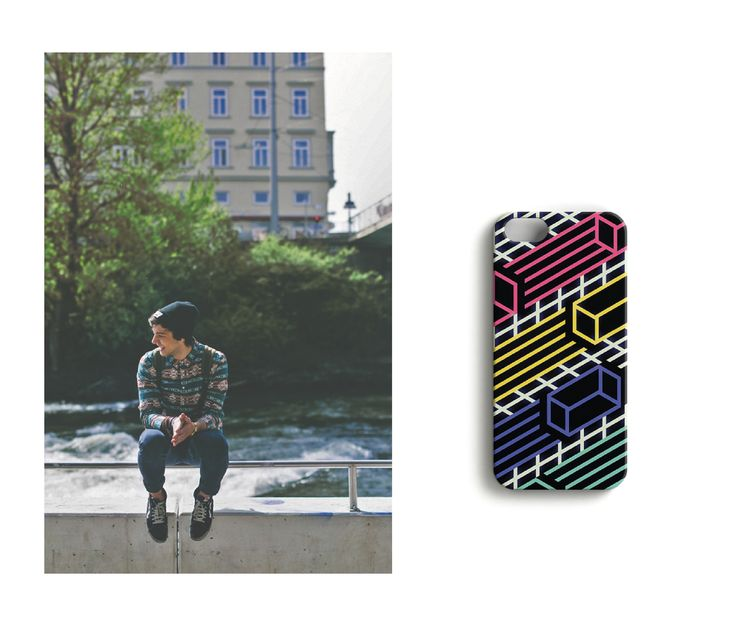 Sounds like thunder //Retrospect iPhonecase designed by Luka Appelberg.