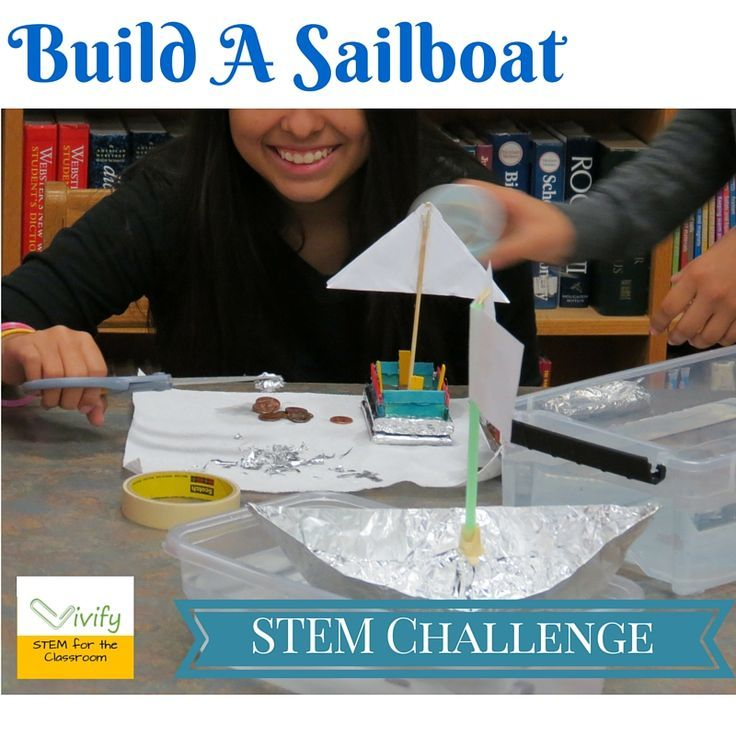 Best Stem Challenge Ever: STEM Sailboat Challenge Math & Engineering Activity