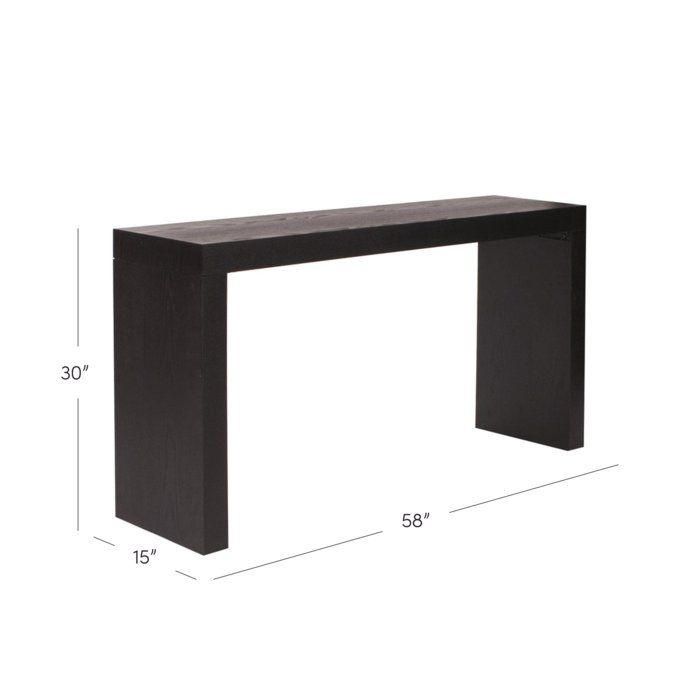 Wilkins Console Table Console Table Black Console Table Diy Console Table