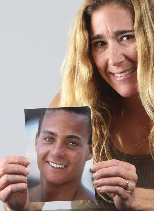 Kim Moriarity keeps the spirit of her husband Jay alive ...Jay Moriarity Famous Picture