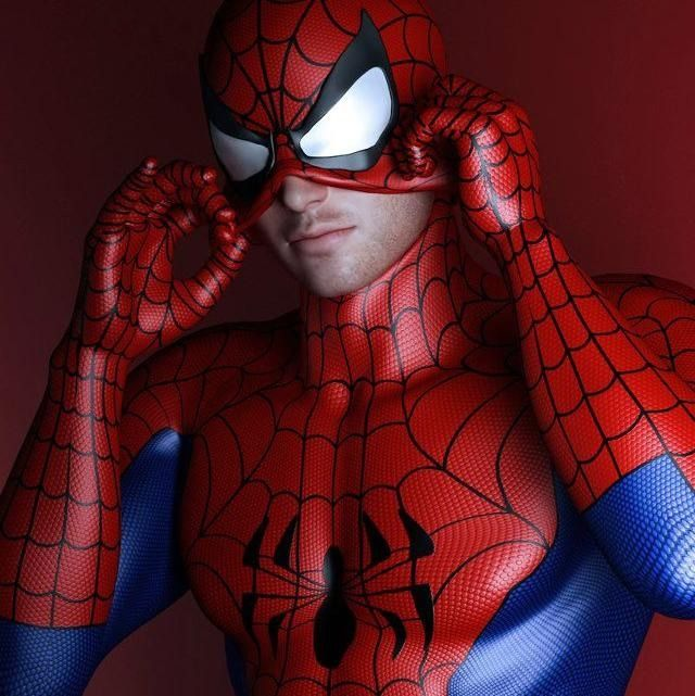 me Spiderman gay made