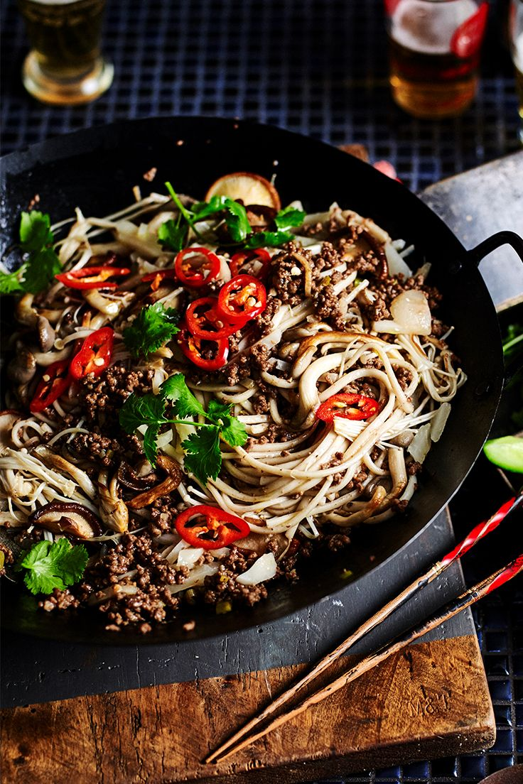You won't be able to resist a second serve of this fragrant beef and mushroom stir-fry from The Australian Women's Weekly's 'The Butcher' cookbook.